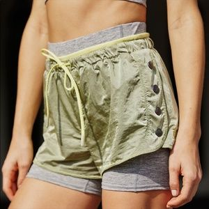 FREE PEOPLE OPAL SHORTY ATHLETIC SHORTS